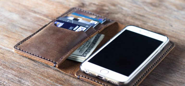Multi-Purpose iPhone Wallet Trendy and Useful