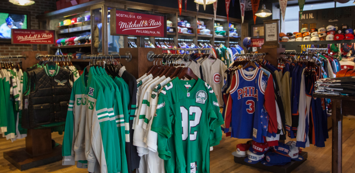 Perfect Fitting of Mitchell and Ness Shirts with Company Info!