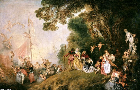 18th century and the art associated with that time