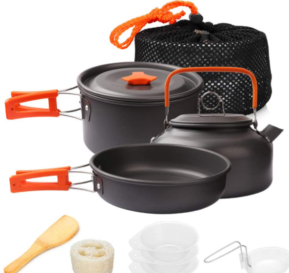 camping cooking set`